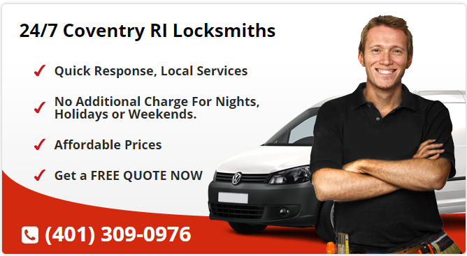 24 Hour Locksmith Coventry RI